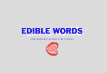 Edible Words Panel Talk