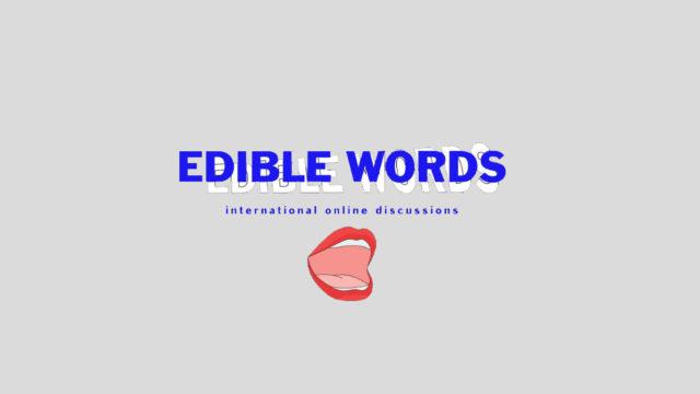 Edible Words Panel Talk